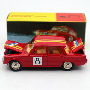 Image 1 - 1:43 Atlas Dinky Toys 1401 ALFA ROMEO 1600 TI Rally #8 Diecast Models Limited Edition Collection