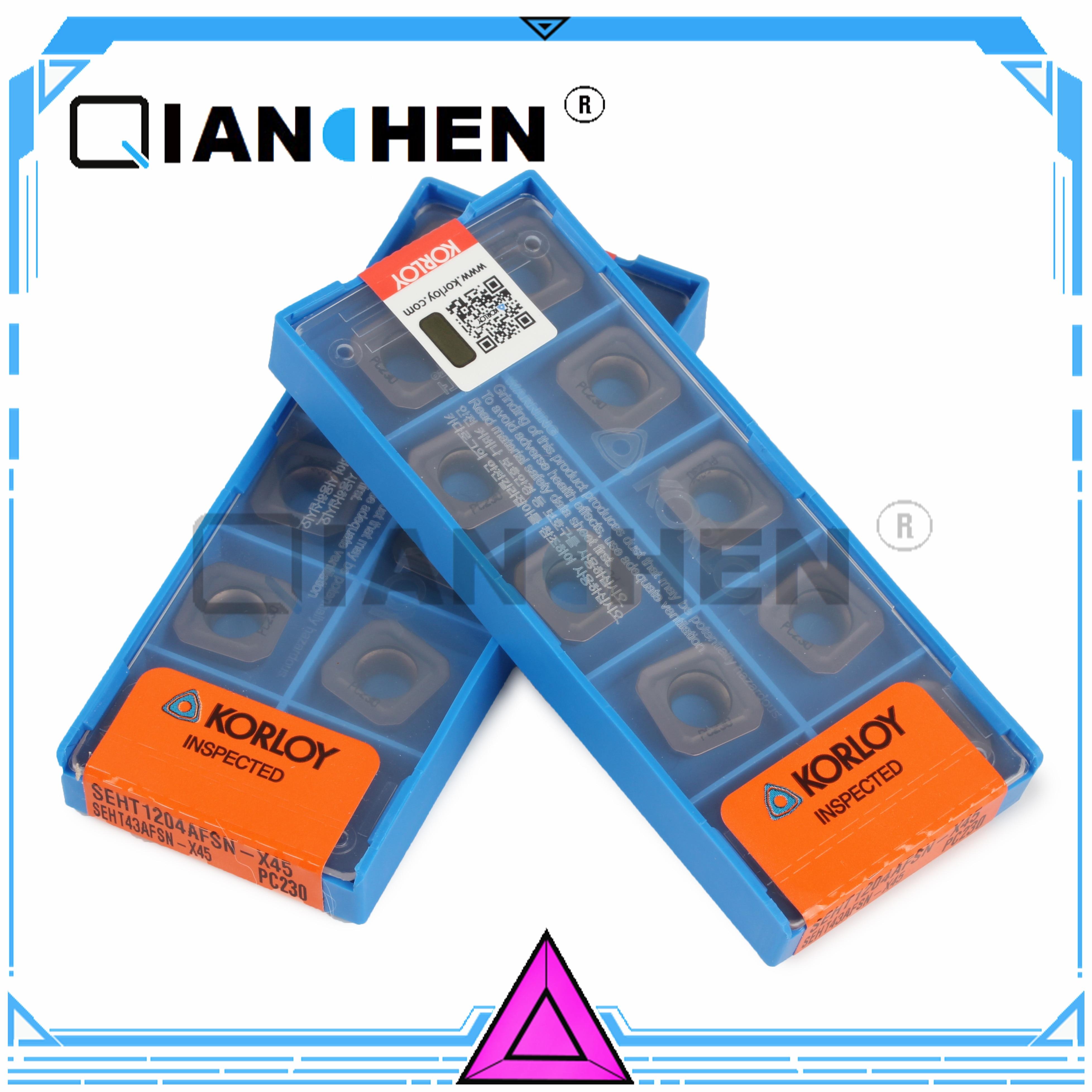 SEHT1204AFSN-X45 dorigine KORLOY PC230 (10 pcs/lot)SEHT1204AFSN-X45 dorigine KORLOY PC230 (10 pcs/lot)