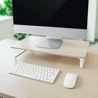 2019 New Computer Stand Monitor Increased Shelf Screen Heightened Base Desktop Keyboard Storage Shelf Elevated