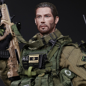 Image 5 - NFSTRIKE 30cm 1/6 Israeli Special Forces Movable Figure Military Soldier Model For Kids Adults Gift 2019 New