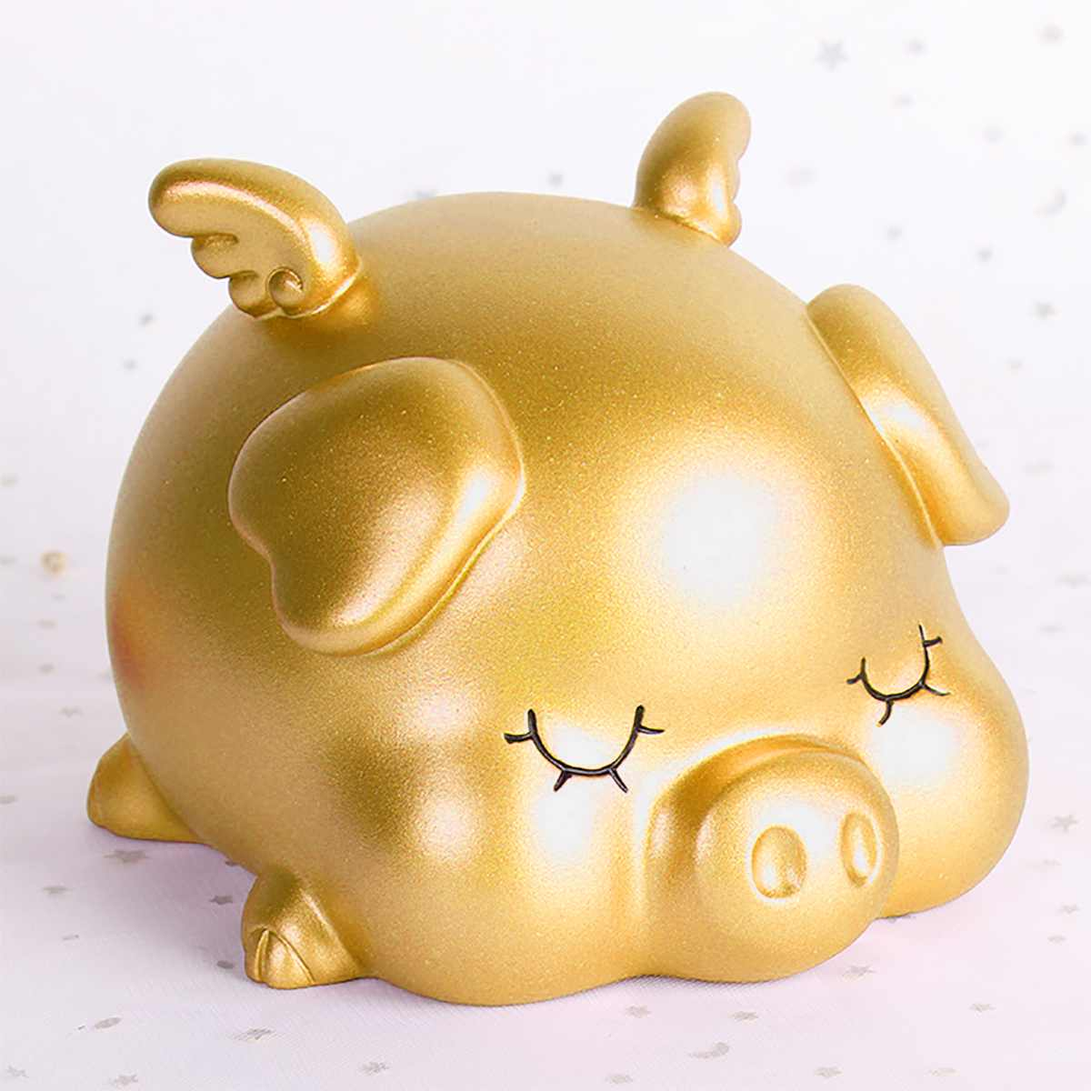 Efficient Feng Shui Chinese Year Of The Pig Ceramic Gold Piggy Bank Collectibles Holiday & Seasonal