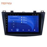 Harfey Android 8.1/7.1 9 2Din Car Radio For 2009 2010 2011 2012 MAZDA 3 GPS Multimedia Player 3G Wifi Head Unit Auto Stereo