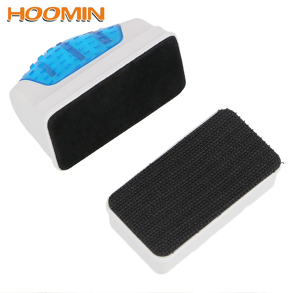 HOOMIN Magnetic Cleaning Brush Glass Algae Cleaner Strong Magnets Aquarium Cleaner Floating Fish Tank Clean Tool