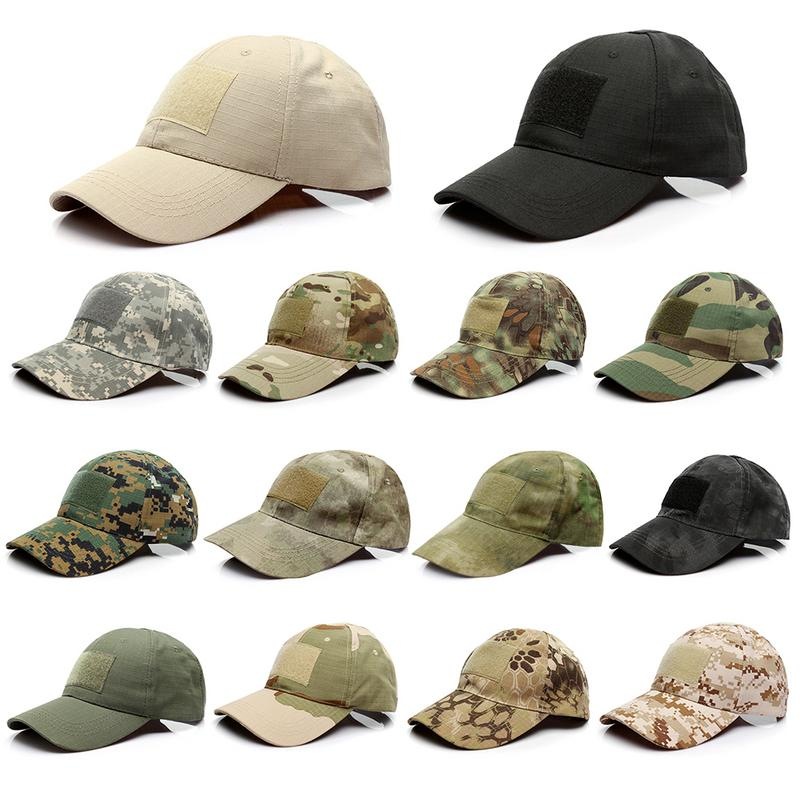 New Adjustable Camo Camouflage Baseball Cap Men Outdoor Hunting Camouflage Jungle Hat Tactical Hiking Casquette Hats