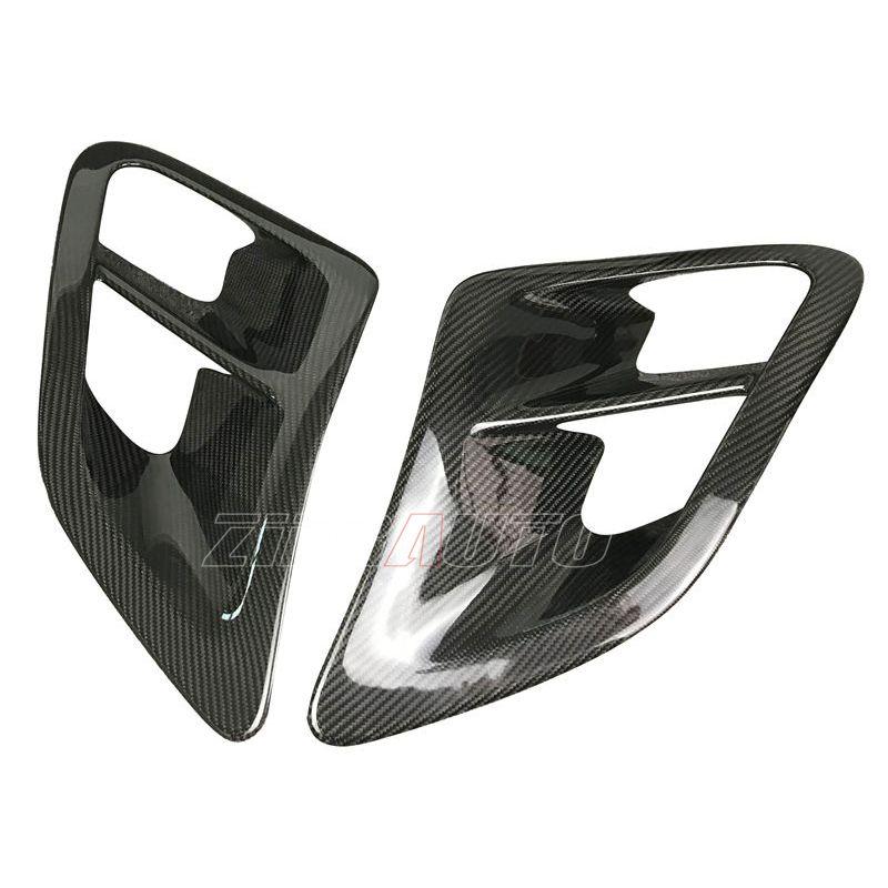 In Fibra di carbonio Air Vents per Porsche 911 997 Turbo tubo di Aspirazione Dell'aria Full Frame In Fibra di Carbonio