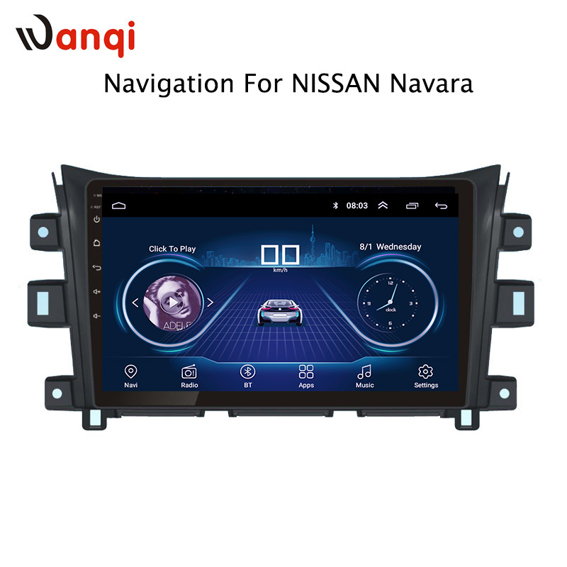 10.1 inch Android 8.1 full touch screen car multimedia system For Nissan navara NP300 2016-2018 car gps radio navigation