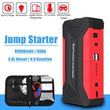 89800mAh Power Bank 600A Car Jump Starter 12V Emergency Starting Device Car Charger for Battery Booster Auto Starting Device