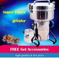 High Speed Electric Herb Grain Grinder Cereal Mill Flour Powder Machine