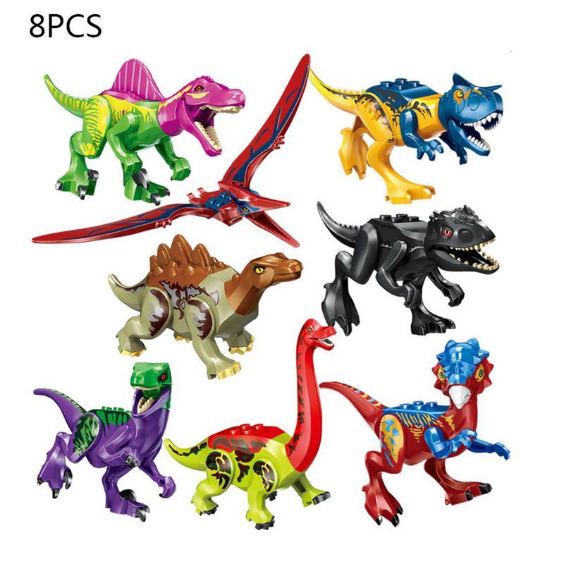 8 Types Colorful Dinosaur Detachable Assembling Toy Childrens Educational DIY Toy Lovely Gift For Children8 Types Colorful Dinosaur Detachable Assembling Toy Childrens Educational DIY Toy Lovely Gift For Children