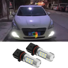 2X For Peugeot 508 2011 2012 2013 2014 2015 P13W PSX26W Car High Power LED Bulbs