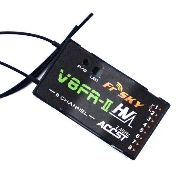 Frsky V8fr ii 2.4g 8ch استقبال Hv الإصدار لأجزاء الدوار متعددة Fr السماء Accst Rx