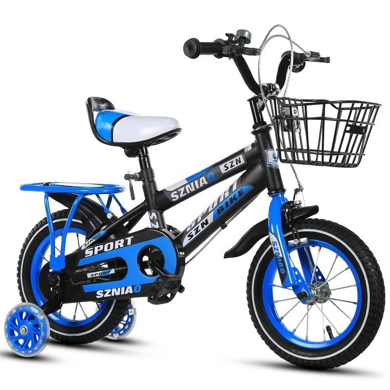 Child Bicycle Belt Backseat Men And Women Baby A Child's Car Bicycle 2 Reach 9 YearFlash Assist Wheel Bikes Fahrrad