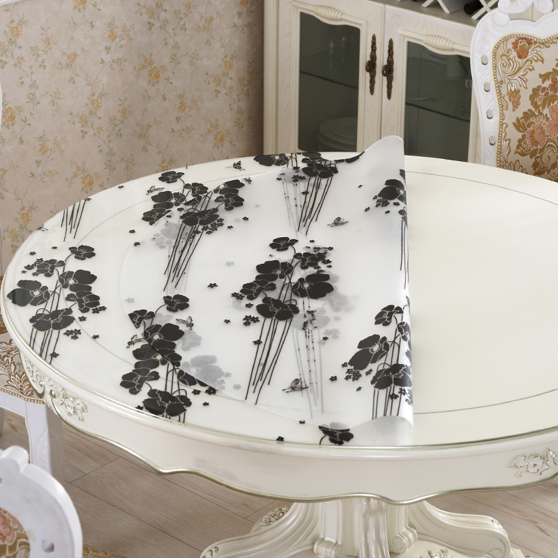 Shabby Chic Obrusy Na Tovaglie Rose Gold Home Nappe Ronde Round Toalha De Mesa Tablecloth Cover Mantel Table Cloth