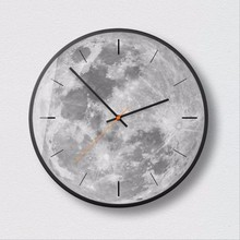 купить New Wall Clock Quartz Ultra-quiet Sweep Wall Clock Modern Design Simple Wall Clock Large Size Silent Movement Clocks Home Decor онлайн