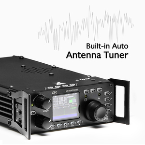 Image 3 - XIEGU G90 QRP HF Amateur RadioTransceiver 20W SSB CW AM FM 0.5 30MHz SDR Structure with Built in Auto Antenna Tuner GSOC