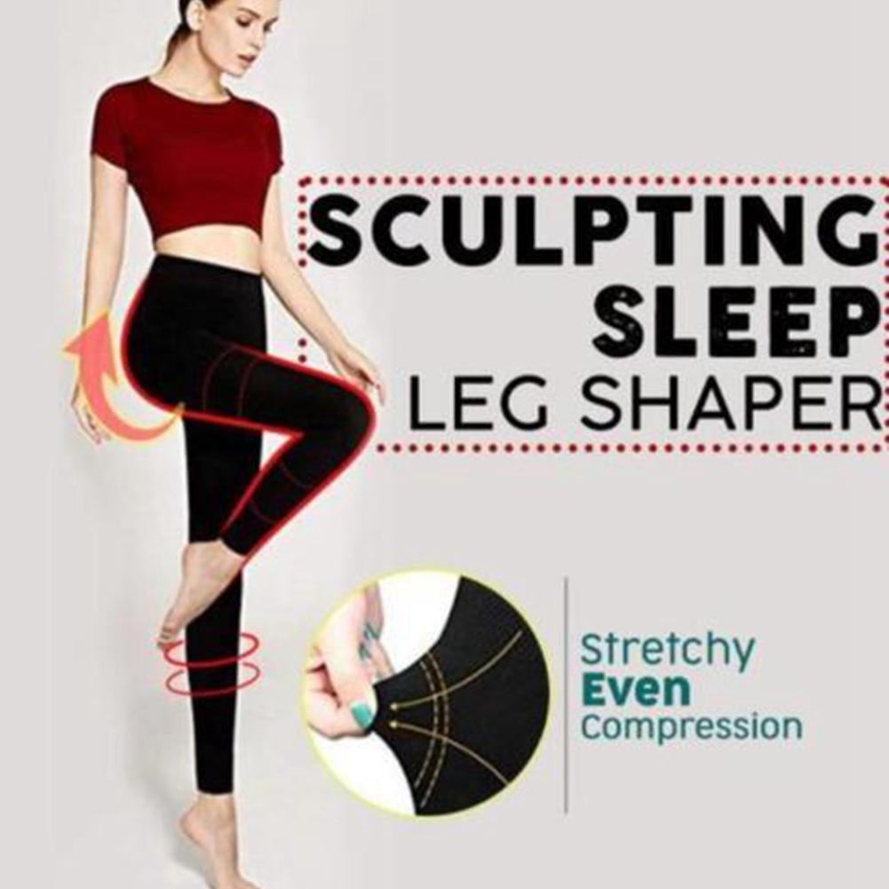 Leg Shaping Women Pants Pressurized Leggings Soft Sculpt Stretchy Hip Lift Elastic Fat  Slim Autumn Winter Compression