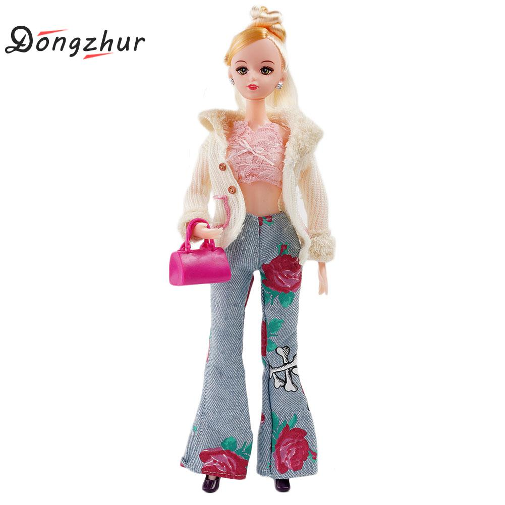 Dongzhur 11 Doll Clothes Handmade 30cm Girl And Accessories Commuting