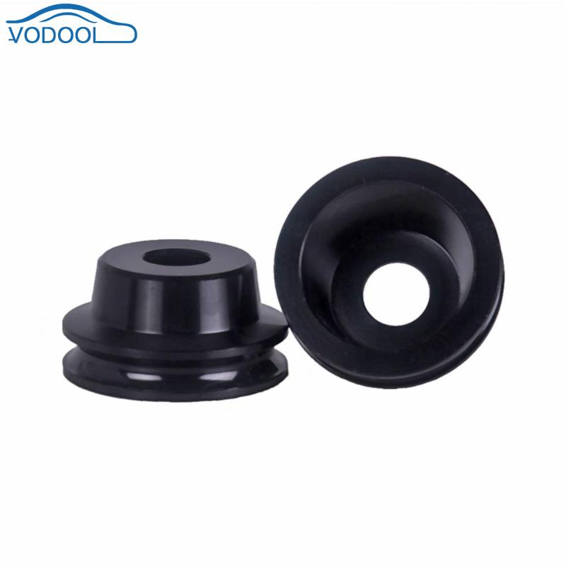 2pcs/set Quality Aluminum Motorcycle Axle Spool Kit For Ruckus Zoomer Black Car Accessaries
