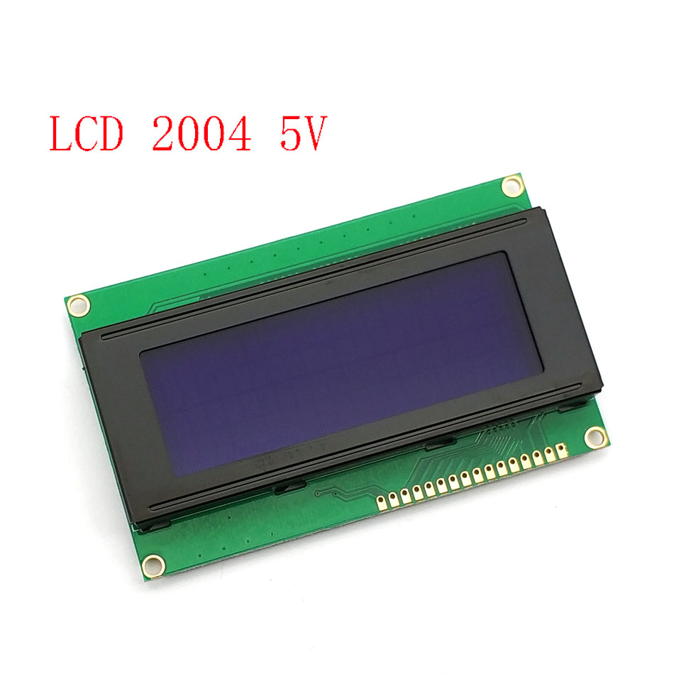 LCD2004 IIC/I2C LCD Display Monitor 2004 20X4 5V Character Blue Backlight Screen LCD2004 IIC I2C For Arduino LCD Dis