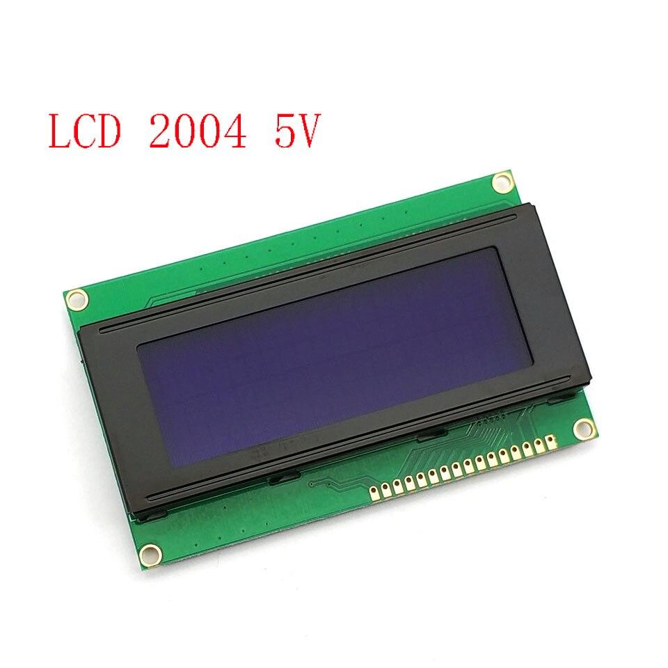 LCD2004 IIC/I2C LCD Display Monitor 2004 20X4 5V Character Blue Backlight Screen LCD2004 IIC I2C For Arduino LCD Dis