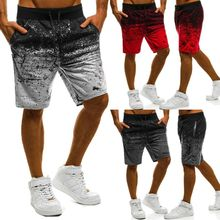 Mens Sports Training Bodybuilding Soft Shorts Workout Fitness GYM Short Pants