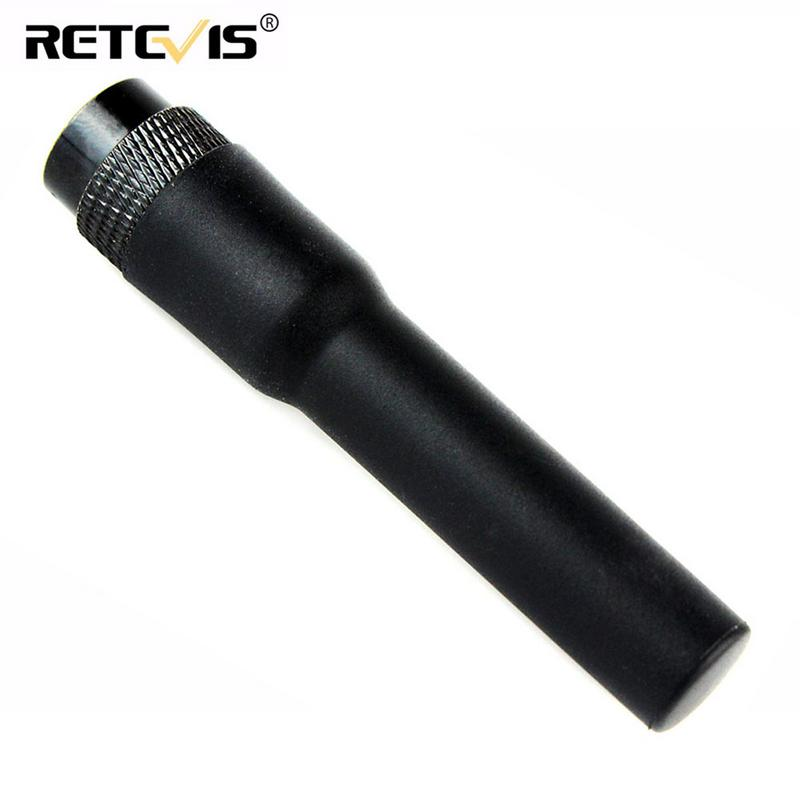 Retevis RT20 Interphone Short Antenna Dual Band VHF/UHF High Gain SMA-M 144MHz/430MHz Antenna for YAESU BF- UV3R TONGFA
