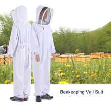 Outdoor Tools Beekeeping Veil Suit Jacket Thick Beekeeper Protective Clothing Anti-bee Clothes Bee Hat Survival Equipment protective pants veil bee protecting dress camouflage beekeeping suit beekeeper bee suit smock