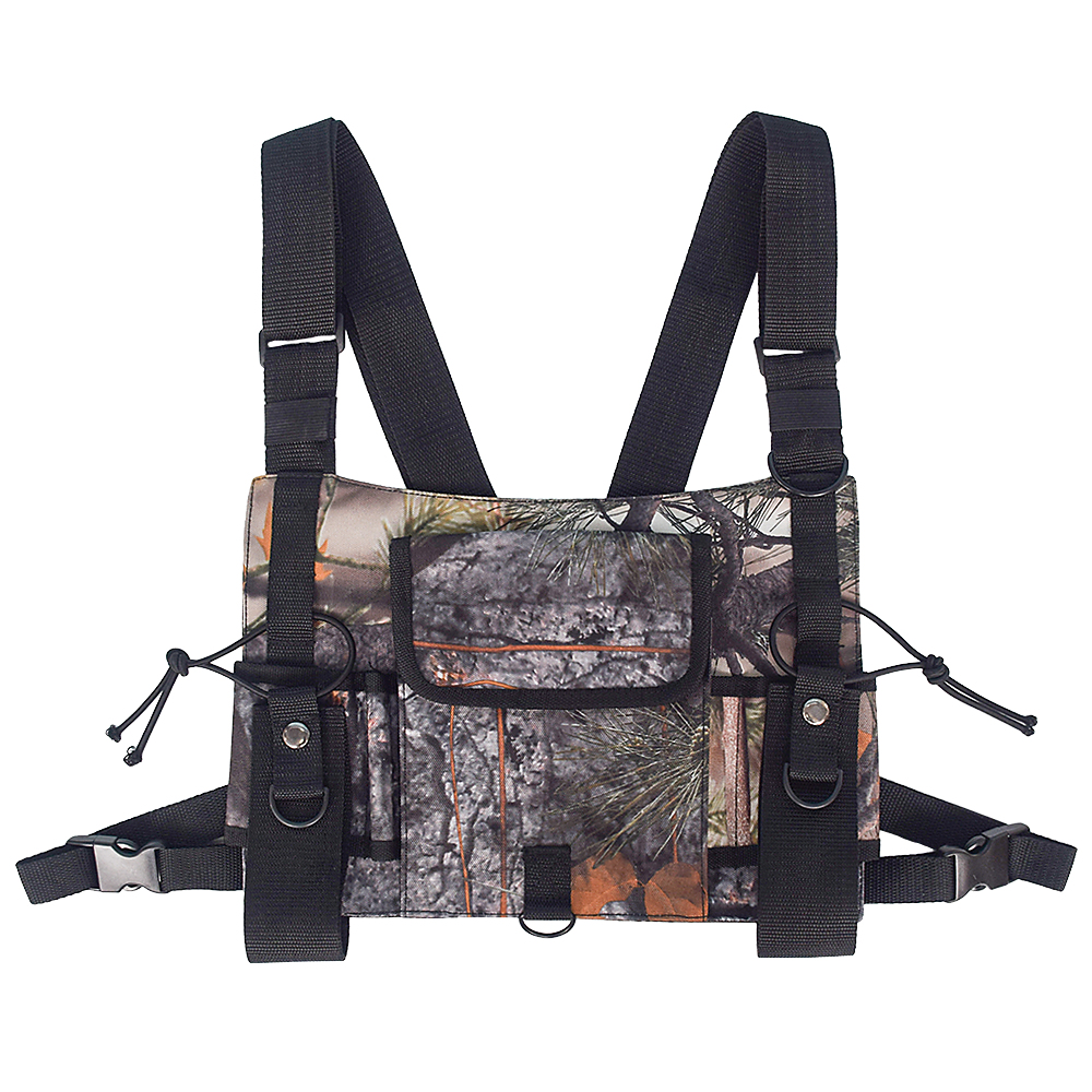 Image 2 - Outdoor Military Tactical Vest Highly Visible Reflective Radio Harness Chest Rig Outdoor Clothing Hunting Vest-in Hunting Vests from Sports & Entertainment