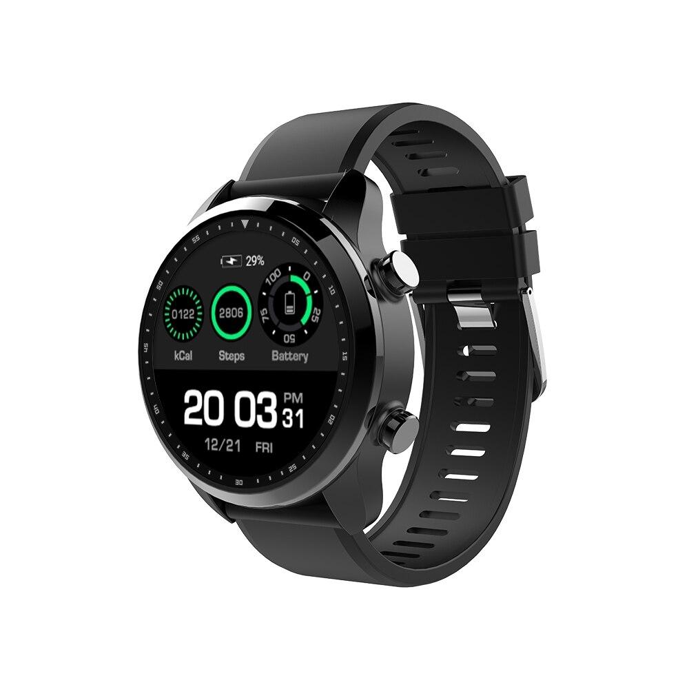 Kospet Brave Android montre intelligente téléphone bluetooth appel 2G + 16G 4G-LTE tension artérielle moniteur de fréquence cardiaque Smartwatch