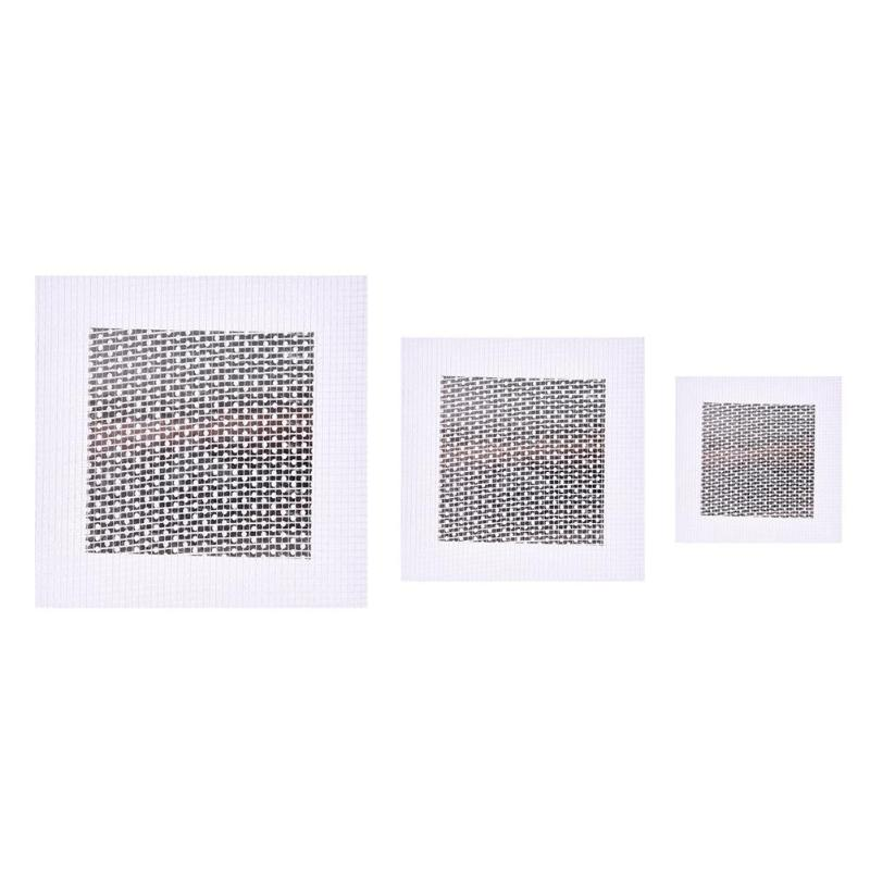 500dB Aluminum-plastic Composite Board Self Adhesive Stickers Wall Patch  Repair Aluminum Plate Window Screen Wall Drywall Patch