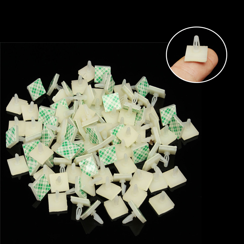 Aodesy 20Pcs Sticky Reverser Mount Insulated PCB Spacer Adhesive Standoffs 11mm//0.43inch Supporting Height