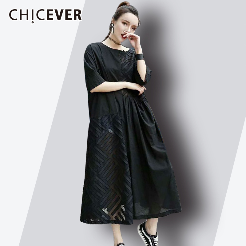 Buy black patch dress and get free shipping on AliExpress.com 65869768a151