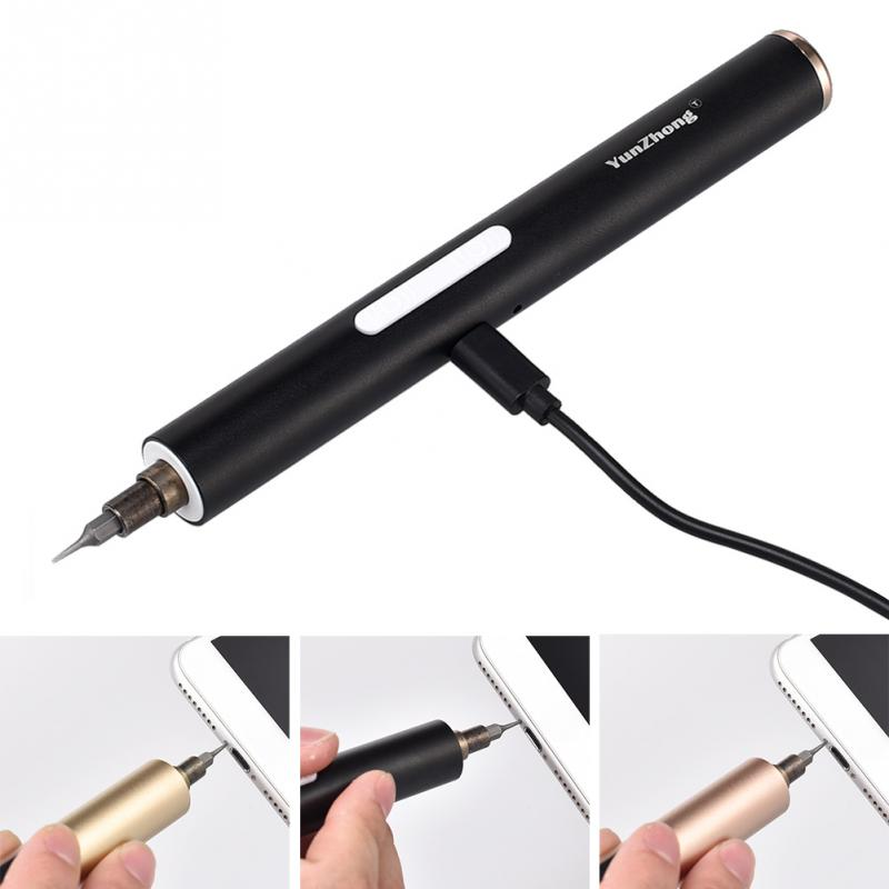 DC 3.6V Lightweight Mini Electric Power Cordless Screw Driver Portable Repair Tools For Phone Computer Camera Repairing