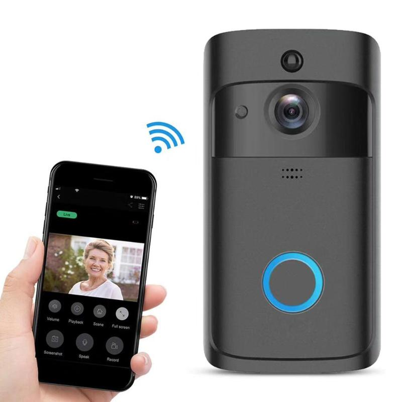 Smart Wireless Security IP Video Intercom WI-FI Video Door Phone Door Bell WIFI Doorbell IR Alarm 720P Night Vision CameraSmart Wireless Security IP Video Intercom WI-FI Video Door Phone Door Bell WIFI Doorbell IR Alarm 720P Night Vision Camera