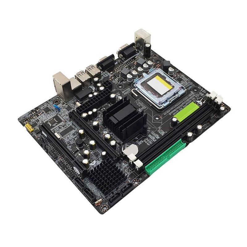 VAKIND Carte Mère Pour Intel 945GC 945 ICH Chipset Pour LGA 775 Double Canal DDR2 Mémoire Carte Mère Remplacer G31 SATA2.0 667 /800 MHz