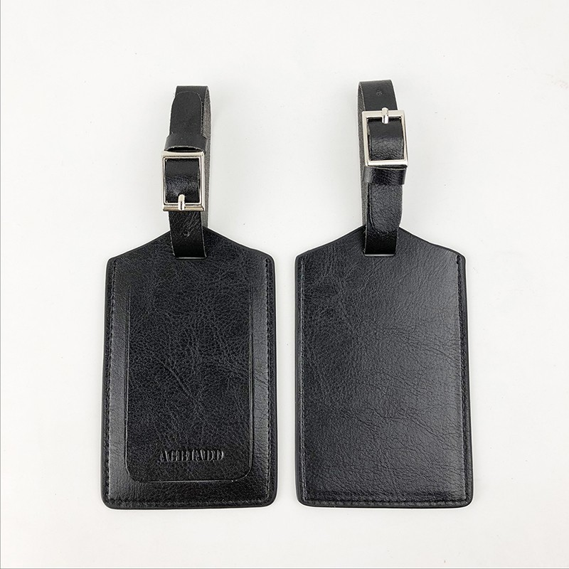 Luggage&bags Accessories Leather Suitcase ID Addres Holder Luggage Label Straps Suitcase Luggage Tags Drop Shipping 718-50