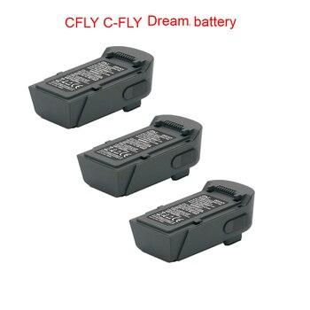 11,4 V 1000 mAh Lipo batería para CFLY C-FLY sueño/JJRC X9 RC Quadcopter Drone piezas de accesorios CFLY sueño de la batería