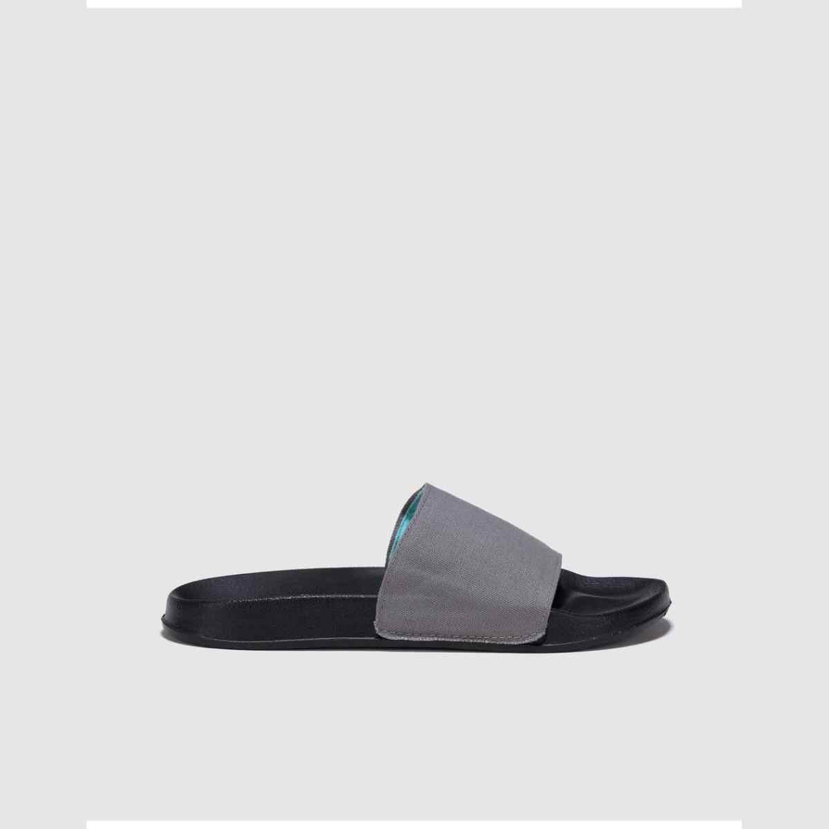UNIT Chanclas de Mujer Negro con Pala Ancha en Color Gris Slippers Básicos Zapatillas Chanclas Playa Mujer Sandalias Estilo Casual Flat Cómodos Moda Mujer Nueva Temporada Verano Diseño El Corte Inglés