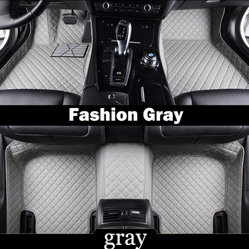 Custom fit car floor mats for Mercedes Benz S class W221 280 350 400 500 600 L S63 S65 AMG all weather carpet liners