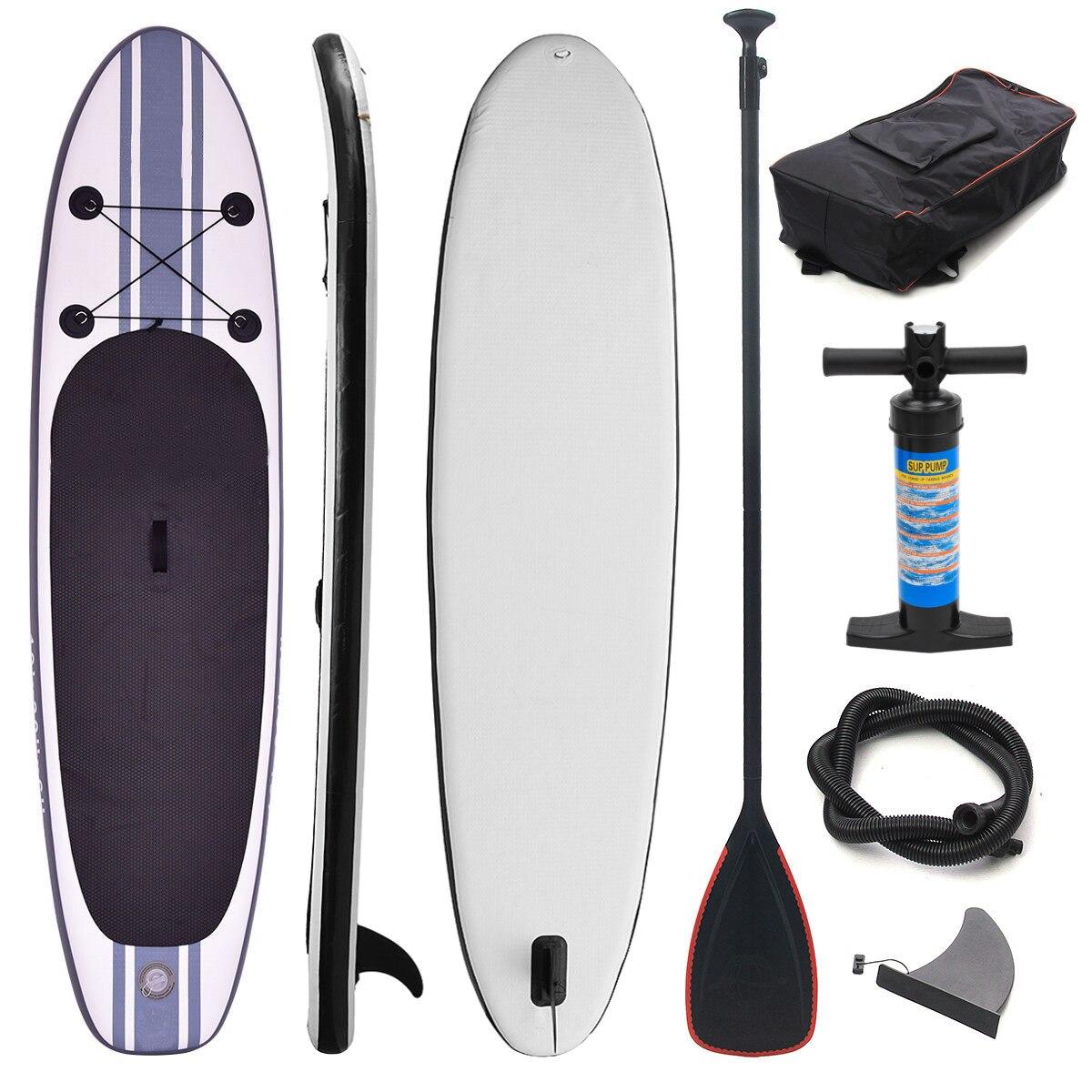 Gofun 335*76*15 cm stand up paddle Planche De surf Gonflable Conseil SUP Ensemble Vague Coureurs + Pompe gonflable surf planche de paddle bateau - 2