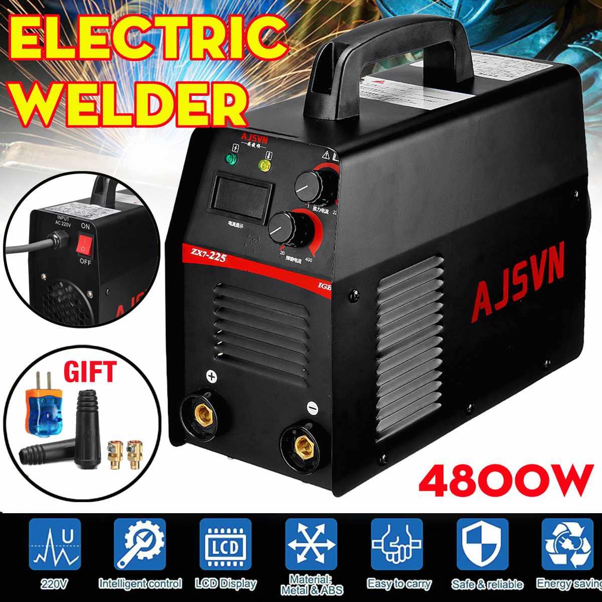 220V 6.2KVA  ZX7-225 Electric IGBT Welder Inverter MMA/ARC Welding Soldering Machine 20A-225A