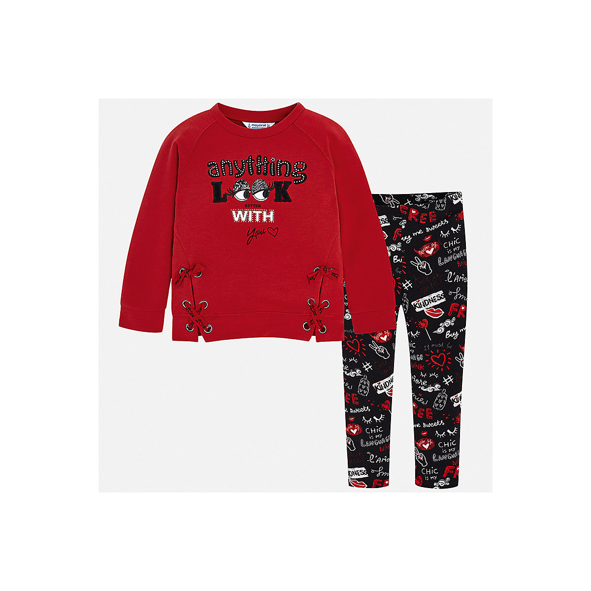 MAYORAL Baby's Sets 8849721 Cotton Baby Girls Fashion clothing costume for girl leggings T-shirt