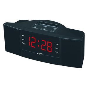 Image 1 - Haut parleur Portable multi fonction horloge LED AM/FM Radio numérique sons stéréo dispositifs de programme de musique canal double bande pour les cadeaux