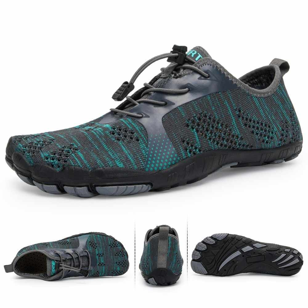 Aqua Shoes Men Barefoot Men Beach Shoes For Women Upstream Shoes Breathable Hiking Sport Shoe Quick Dry River Sea Water Sneakers