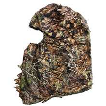 Camouflage Hunting Leafy 3D Face Mask Hood Outdoor Hunting Fishing Headgear Camo Hat
