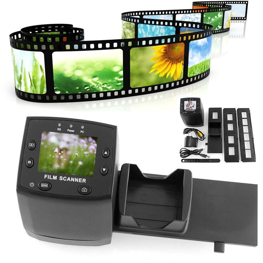 EC717 2.4 pouces Numérique Image Viewer Haute Résolution Outil écran lcd JPEG Glisser scanner de film Négatif Films Convertisseur Photographie