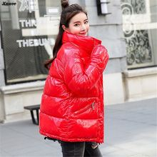 Parka women 2018 Winter Jacket Women Coats Outerwear Female Parkas Thick Cotton Padded Down jackets Xnxee