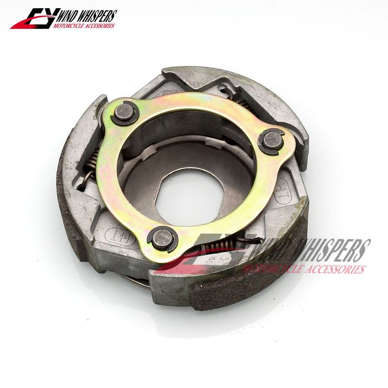 Motorcycle Engine Parts Centrifugal Block Clutch Carrier Assy Driven Wheel Pulley For Yamaha Majesty YP250 Linhai 250 LH250 YP-in Kickstarters & Parts from Automobiles & Motorcycles    1