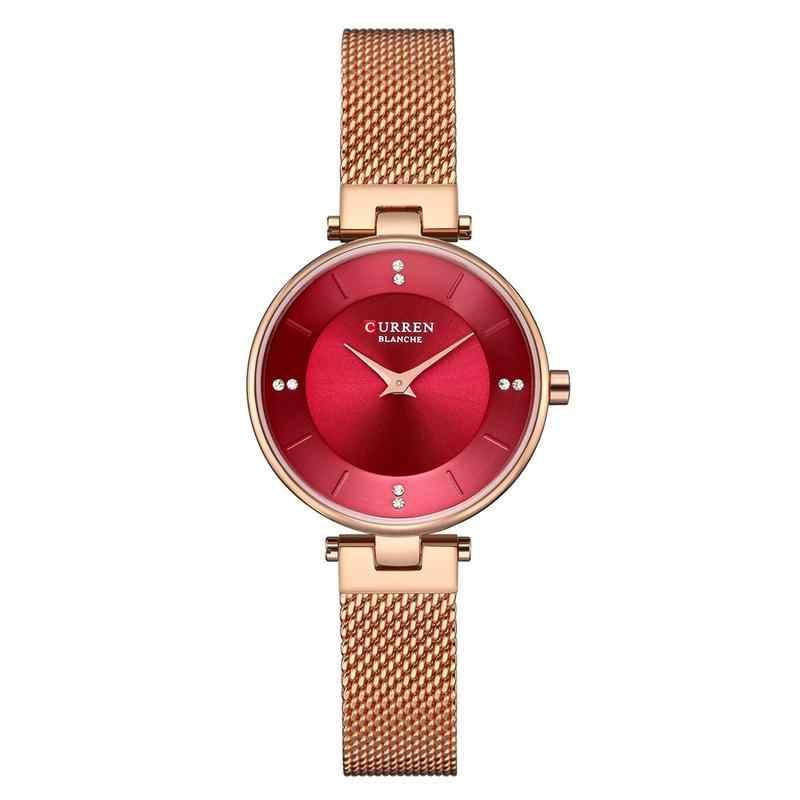 a70c0b4f ... Curren 9031 модные женские часы из нержавеющей стали золотые часы  женские Curren горячие продажи женские часы ...