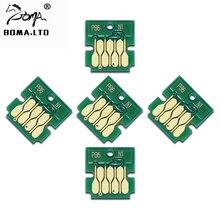 T6714 Maintenance Tank Chip For EPSON WorkForce Pro WF C869RDTWFC C869RDTWF C8690DWF C869RD3TWFC C8690DTWFC Waste Ink Tank